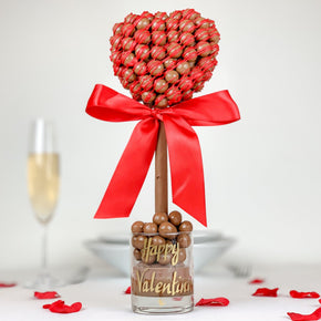 Malteser Heart With Red Drizzle