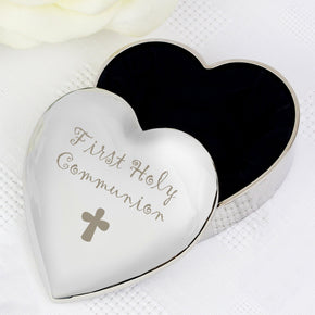 1st Holy Communion Heart Trinket Box