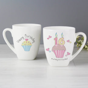 Cupcake Birthday Latte Mug