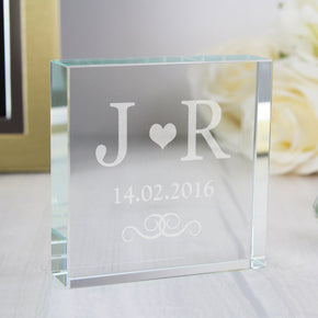 Personalised Monogram Large Crystal Token