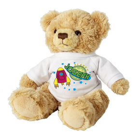 Personalised Space Message Bear