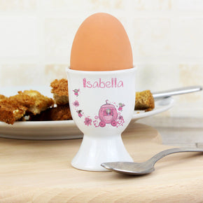 Personalised Pumpkin Fairy Egg Cup