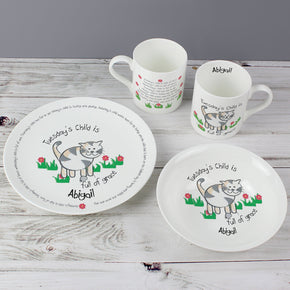 Personalised Tuesdays Child Breakfast Set