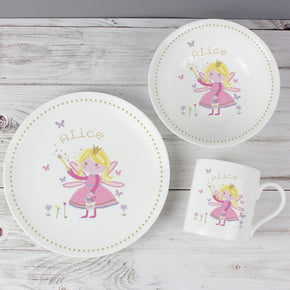 Personalised Garden Fairy Breakfast Set