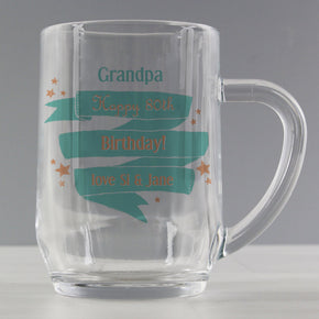 Personalised Shining Star Tankard