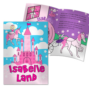 Personalised Princess & Unicorn Story Book