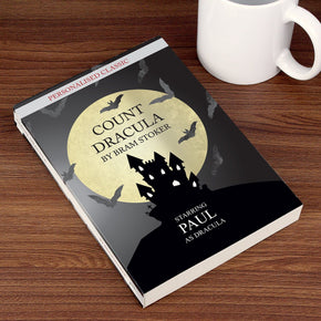 Personalised Dracula Novel - 1 Character