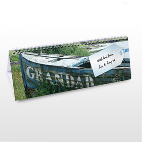 Personalised Grandad Desk Calendar