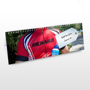 Personalised Sport Desk Calendar