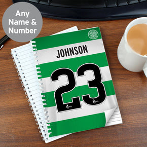 Personalised Celtic A5 Notebook
