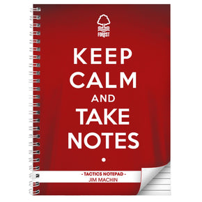 Personalised Nottingham Forest Keep Calm A5 Notebook