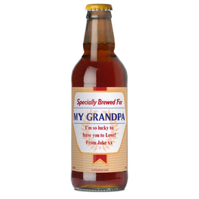 Personalised Specially Brewed For Beer