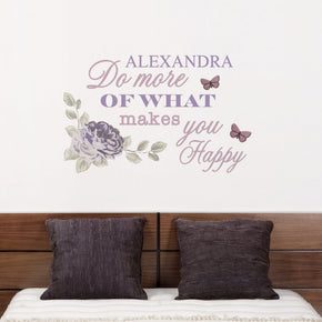 Personalised Secret Garden Wall Art