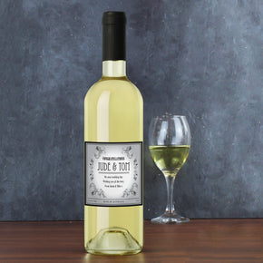 Personalised Vineyard White Wine