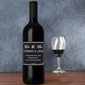 Personalised Classic Wine