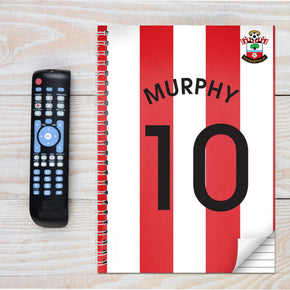 Personalised Southampton A4 Notebook