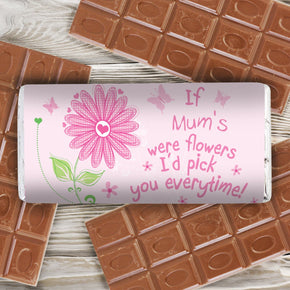 Personalised Id Pick You Milk Chocolate Bar