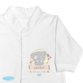 Personalised Tiny Tatty Teddy 9-12 Months Babygrow