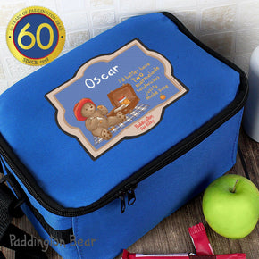 Personalised Paddington Bear For Baby Lunch Bag