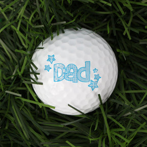 Personalised Dad Golf Ball