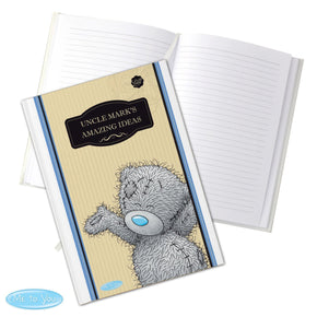 Personalised Me to You For Him Hardback A5 Notebook