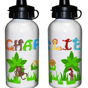 Personalised Animal Alphabet Drinks Bottle