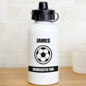 Personalised Football Fan Drinks Bottle