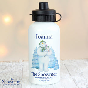 Personalised The Snowman and the Snowdog Drinks Bottle