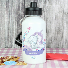 Personalised Tiny Tatty Teddy Unicorn Drinks Bottle