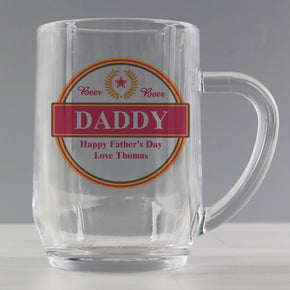 Personalised Gold Award Tankard