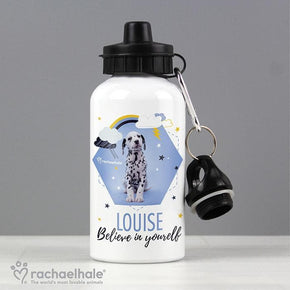 Personalised Rachael Hale Dalmatian Drinks Bottle