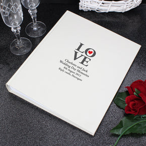 Personalised Love Traditional Album