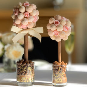 Pink Champagne and Roses Sweet Tree