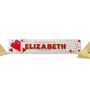Valentines Toblerone Milk or White Chocolate 360g