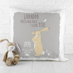 Personalised Guess How Much I Love You Cushion Cover