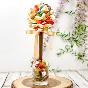 Personalised Haribo Sweet Tree - 25cm