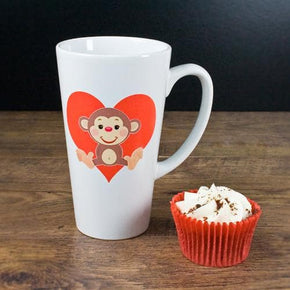 Love Monkey Romantic Mug