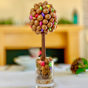 Personalised Malteser & Smarties Sweet Tree - 25cm