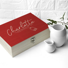 Personalised The Ultimate Cu-Tea Box