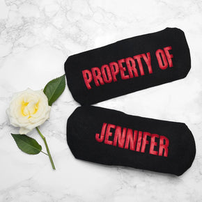 Personalised Sole Mates Romantic Socks