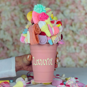 Personalised Pink Smash Cup
