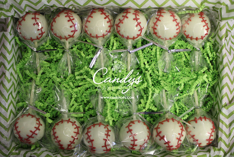 Baseball Cake Pop Box