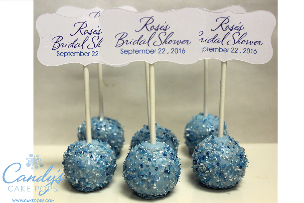 bridal shower cake pop favors