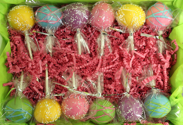 Custom Color Cake Pops (Write in Your Colors)