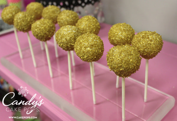Wholesale / Bulk Simple Design Cake Pops *ONE OUTSIDE COATING COLOR ONLY WITH SPRINKLE COLOR CHOICE*