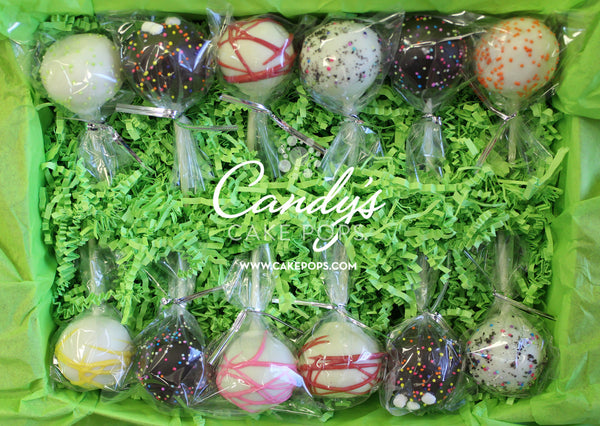 Candy's Flavor Assortment Cake Pop Box (non-custom)