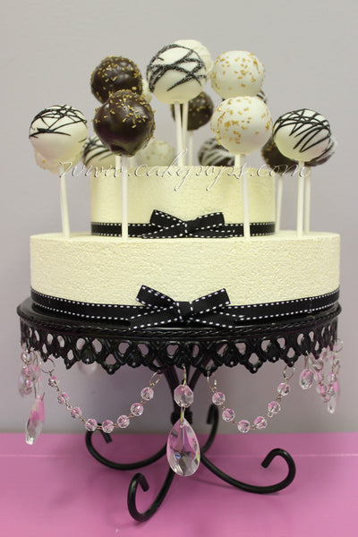 Charming Cake Pop Cake (Styrofoam Display + Cake Pops)