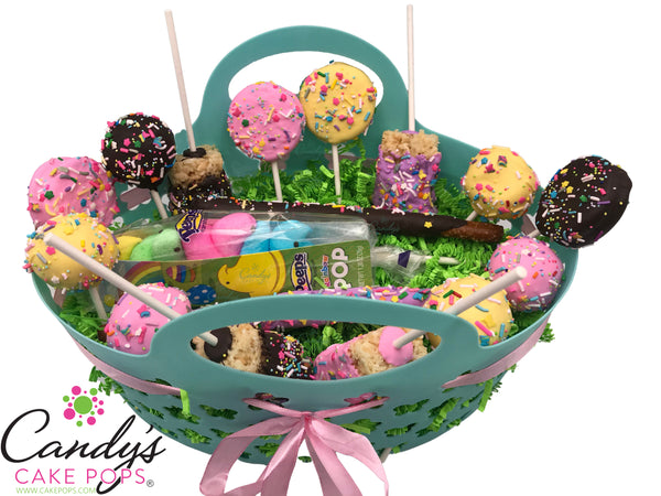Chocolate Covered Variety Easter Cake Pop Gift Box