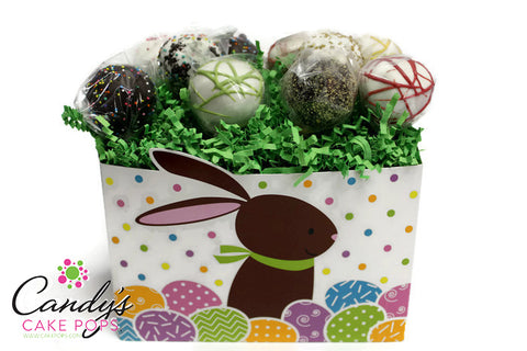 Festive Easter Cake Pop Basket