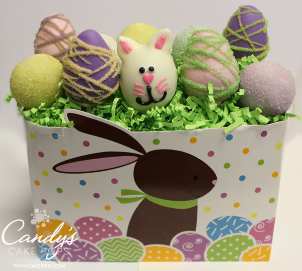 Festive Easter Holiday Cake Pop Basket